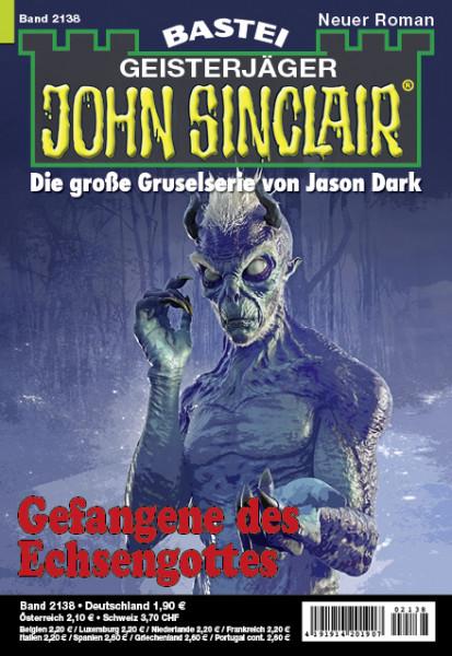 John Sinclair 2138: Gefangene des Echsengottes