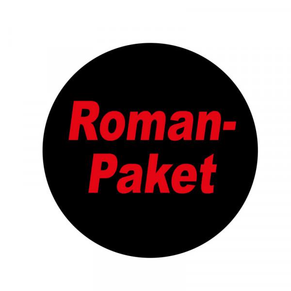 Romanpaket: 55 diverse Grusel-Romane (in praktischer Box). Achtung!!! Die Pakete werden mit Romanen aus unseren aktuellen Serien zusammengestellt!