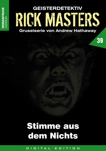 E-Book Rick Masters 39: Stimme aus dem Nichts